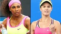 Serena Williams và Eugenie Bouchard rút lui khỏi giải Dubai