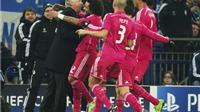 Carlo Ancelotti: 'Ronaldo sinh ra để ghi bàn. Real Madrid đã làm chủ trận đấu'