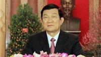 Thư chúc Tết Ất Mùi 2015 của Chủ tịch nước Trương Tấn Sang