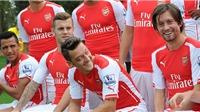 Giroud khẳng định Arsenal đã đạt đẳng cấp thế giới