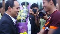 Lãnh đạo Bộ VH,TT&DL thăm và chúc Tết đội tuyển Olympic Việt Nam