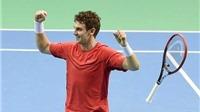 Davis Cup 2015: Thụy Sỹ vẫn khởi đầu ấn tượng, Djokovic thắng dễ