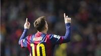 Messi đã san bằng thành tích của Ronaldo rất chóng vánh