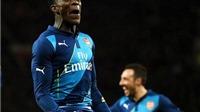 Man United 1-2 Arsenal: Rooney ghi bàn, Di Maria thẻ đỏ, United bị Welbeck hạ gục