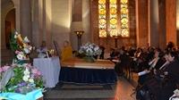 Trang trọng tổ chức tang lễ của họa sĩ Lê Bá Đảng tại Paris