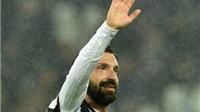 Pirlo: 'Tôi suýt từ giã sự nghiệp vì Liverpool'
