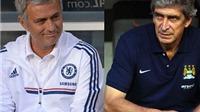 CẬP NHẬT tin tối 14/3: Van Gaal tin Man United có thể xếp trên Man City. Pellegrini mỉa mai Mourinho