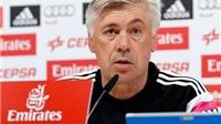Ancelotti: 'Ramos trở lại. Iker Casillas thi đấu ở 'Kinh điển'. Real vẫn chưa từ bỏ'