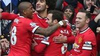 Điểm nhấn trận Man United 3-0 Tottenham: Thay đổi kịch bản Top 4, Fellaini là trụ cột