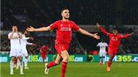 CẬP NHẬT tin sáng 17/3: Liverpool thắng nhờ Henderson. Milan thua. Bổ sung 3 cầu thủ cho đội Olympic Việt Nam