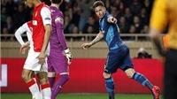 CHẤM ĐIỂM Arsenal: Giroud sáng nhất. Sanchez lại gây thất vọng