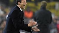 Juventus vào tứ kết Champions League: Cuộc trả thù ngọt ngào của Allegri