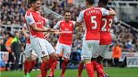 Newcastle 1-2 Arsenal: Giroud lập cú đúp, Pháo thủ vượt khó thành công