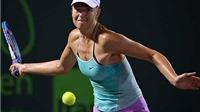 Sharapova bị đồng hương loại ngay trận mở màn Miami Open