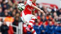 Arsenal đè bẹp Liverpool: Ngày Mesut Oezil dập tắt mọi chỉ trích