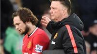 Vì sao CĐV Man United ngày càng yêu mến Van Gaal và Daley Blind?