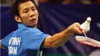 Giải cầu lông Singapore mở rộng 2015: Tiến Minh, Vũ Thị Trang dừng bước tại vòng 1
