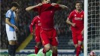Blackburn 0-1 Liverpool: Coutinho ghi bàn đẹp ở góc hẹp, đưa Liverpool vào Bán kết FA Cup
