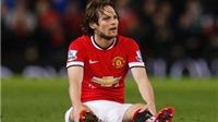 Daley Blind hứa hẹn là 'Denis Irwin mới' của Man United