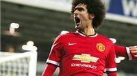 Man United: 'Hải đăng' Fellaini lại khiến Man City khốn khổ