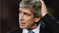 Manuel Pellegrini: Chỉ trích cầu thủ, nhận trách nhiệm, không bàn về tương lai
