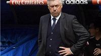 Canh bạc 4-3-3 và sự bảo thủ của Ancelotti