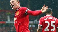 Man United: Wayne Rooney đã vượt qua gánh nặng áp lực