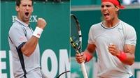 Bán kết  Monte Carlo Masters: 'Kinh điển' Djokovic-Nadal, Monfils đối đầu Berdych