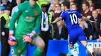 HẾT GIỜ! Chelsea 1-0 Man United: Hazard giữ 3 điểm ở lại sân Stamford Bridge