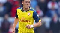 Mesut Oezil: Bộ não và đôi mắt của Arsenal