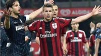 Derby Milano hòa: Thất bại cho cả Inter lẫn Milan