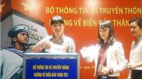 Bộ TTTT quyên góp 4,1 tỉ ủng hộ huyện đảo Trường Sa