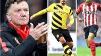 Van Gaal: 'Man United sẽ bỏ ra 270 triệu bảng để mua Bale, Hummels, Pogba, Clyne và Jackson Martinez'