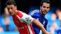 Đại chiến Arsenal - Chelsea: Wenger đã đúng khi từ chối Fabregas vì Oezil?