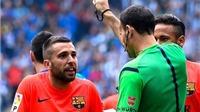 Trọng tài xin lỗi cầu thủ Espanyol vì bàn thắng không hợp lệ của Messi