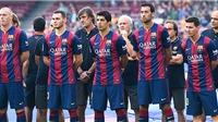 Luis Enrique: 'Barca đã có hiệp 1 hay nhất mùa'