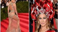 Beyonce, Jennifer Lopez xuyên thấu, kỳ quặc và quyến rũ ở Met Gala