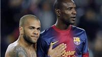 Tiết lộ: Alves từng đề nghị hiến gan cho Abidal