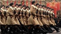 70 năm Chiến thắng phát xít: Phim màu vô giá về lễ diễu binh mừng kết thúc Thế chiến II 1945
