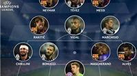 Đội hình tiêu biểu lượt đi Bán kết Champions League: Sự áp đảo của Barca và Juventus