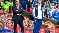 Brendan Rodgers vẫn chỉ là học trò của Jose Mourinho