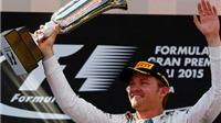 F1 chặng 5 - GP Tây Ban Nha: Rosberg 'không phải dạng vừa đâu'