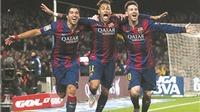 Hàng công Barca: 'MSN' không chỉ hay, mà còn rất đoàn kết