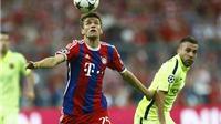 Bayern Munich 3-2 Barcelona (tổng: 3-5): 'MSN' lại rực sáng, Bayern không thể tạo ra phép màu