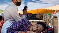 Những hình ảnh đau đớn sau trận động đất mới nhất ở Nepal