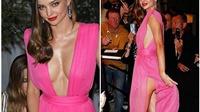LHP Cannes: Bỏng mắt với váy 'siêu gợi cảm' của Miranda Kerr