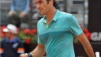 Đánh bại Tomas Berdych, Roger Federer lọt vào Bán kết Rome Masters