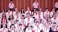 1.200 người cùng hát 'Ai yêu Bác Hồ Chí Minh hơn thiếu niên nhi đồng'