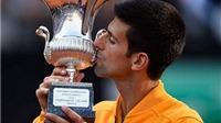 Djokovic vô địch Rome Masters: Thắng, thắng nữa, thắng mãi