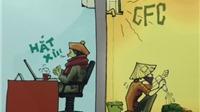 'Tương phản' về nhất cuộc thi Biếm họa tiết kiệm điện